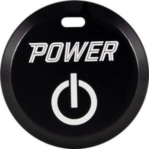 5 SPURS Carbon Black Button